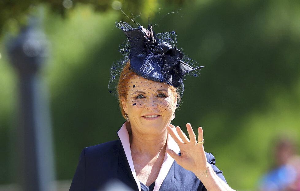 Vévodkyně z Yorku Sarah Ferguson
