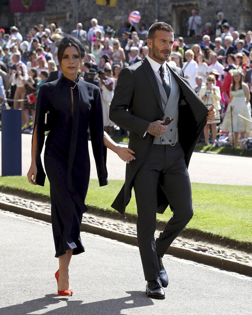 Victorie a David Beckham: Na hraně funusu
