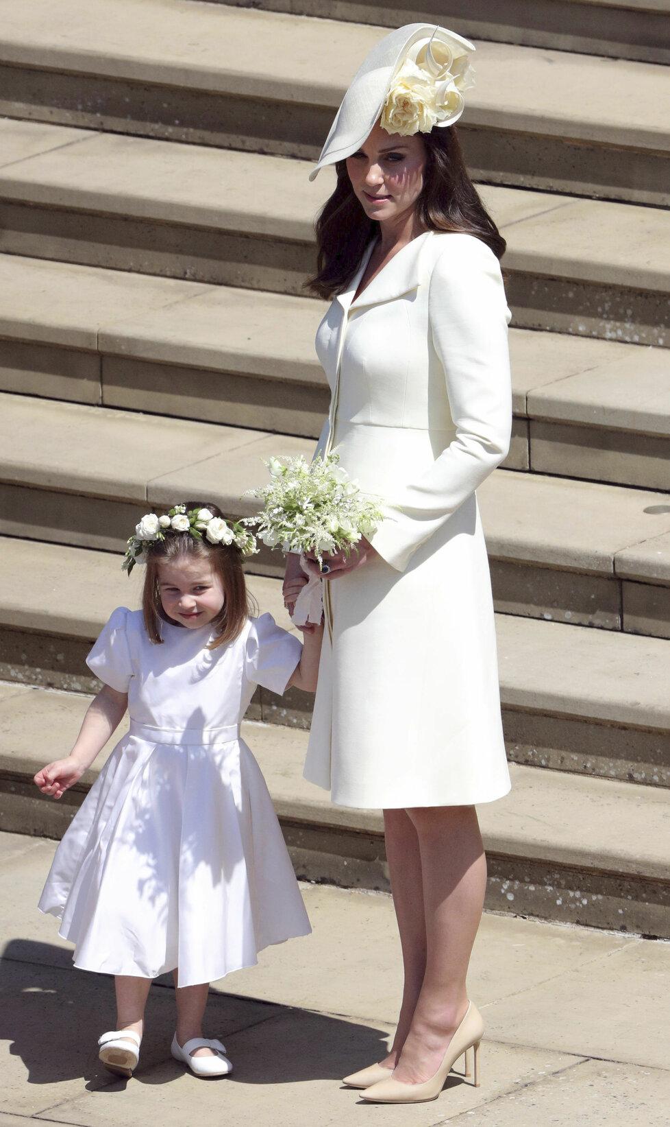 Vévodkyně Kate s dcerou Charlottou: Rodinná etuda