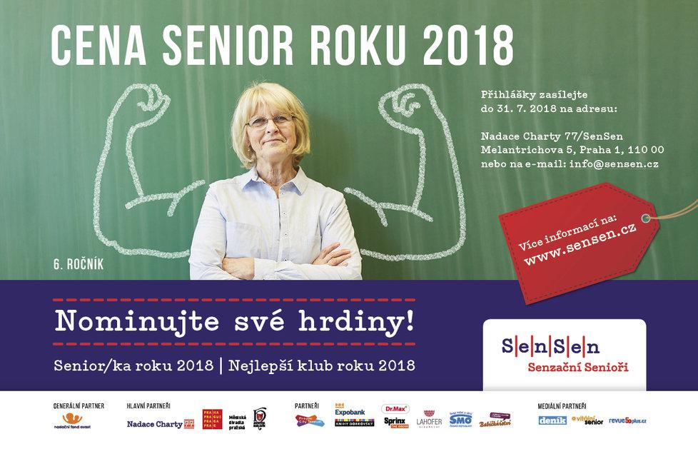 Cena Senior roku 2018