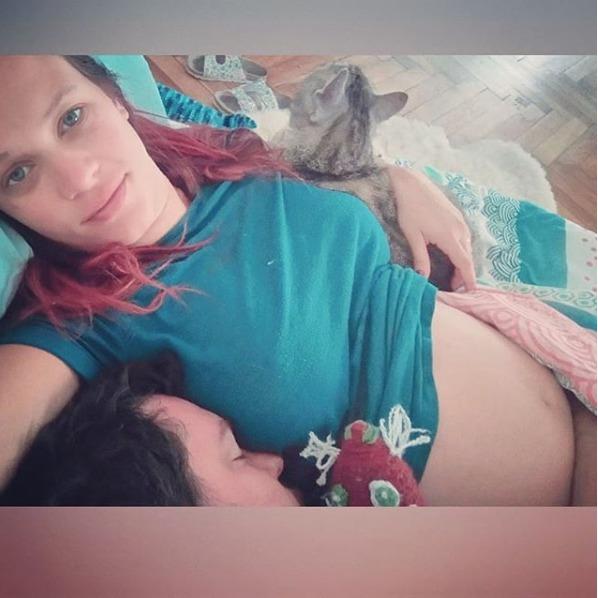 Těhotná Kristýna Leichtová