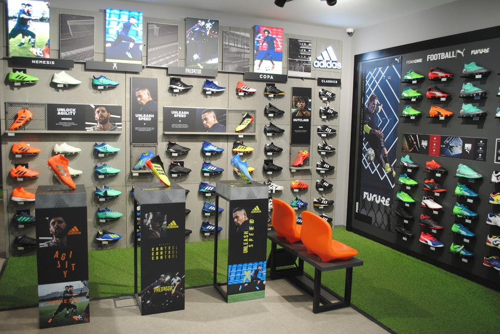 Prodejna SportFotbal