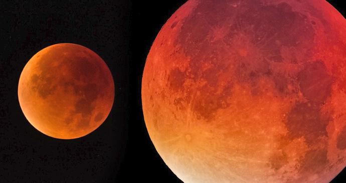 Měsíc se zahalí do krvavé barvy: Věstí zlověstná barva konec světa?