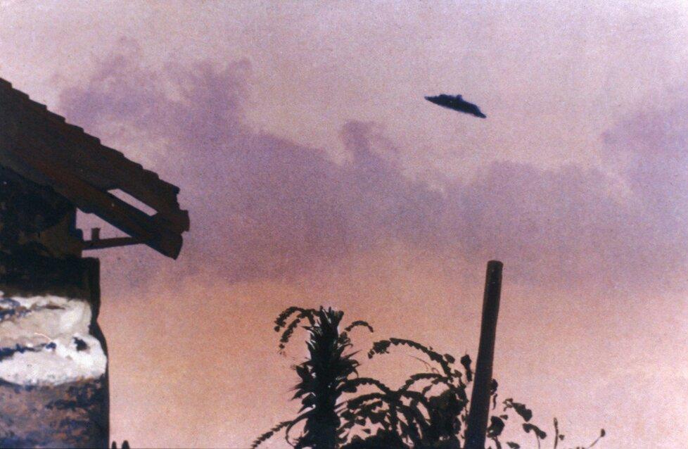 UFO vyfotografované Paulem Trentem v McMinnville, Oregon. 11. května 1950