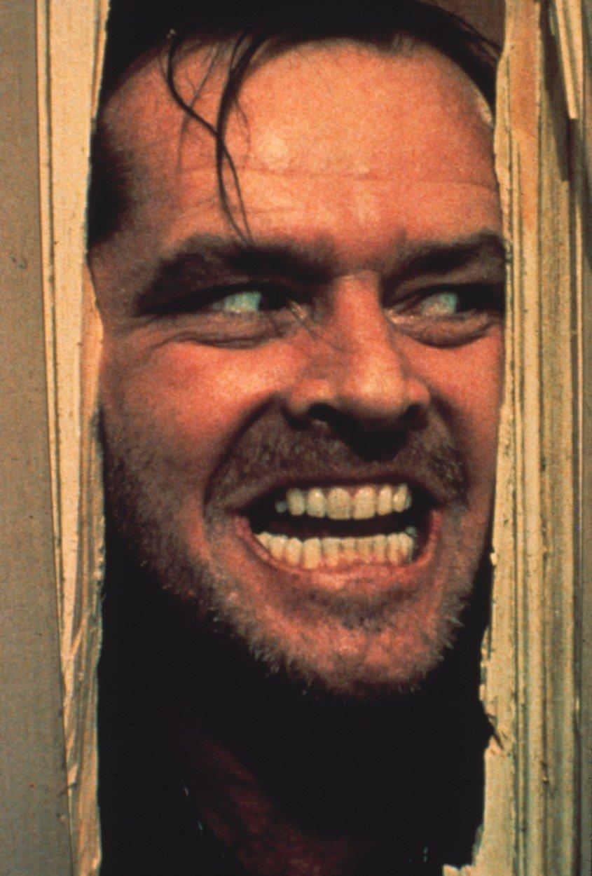 Jack Nicholson v Osvícení