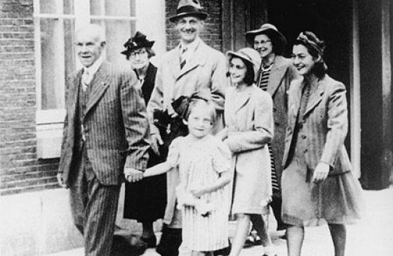 Rodina Anny Frankové