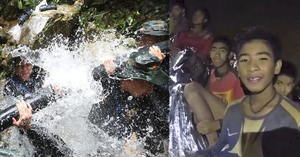 Vojáci jsou na záchranu uvězněných fotbalistů z jeskyně připraveni. Dětem dochází čas i kyslík