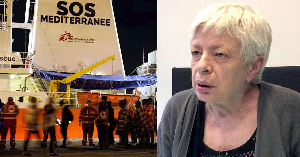 Italská europoslankyně Barbara Spinelli: Východ EU není solidární. Na Sicílii jsou i hranice Čechů, nejen naše