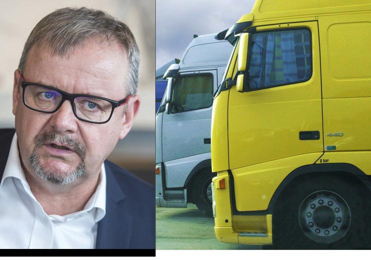 Ťok chce prosadit, aby kamiony vozily méně nákladu než 48 tun.