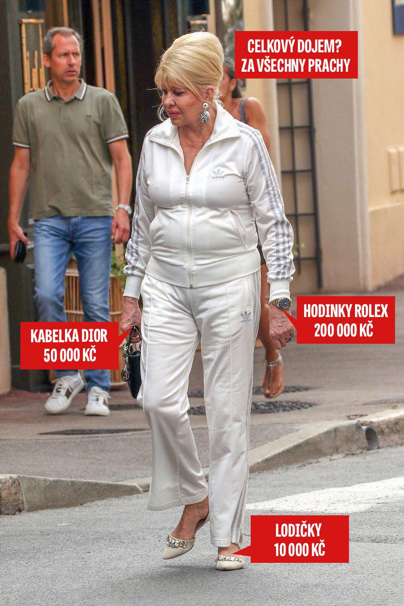 Ivana Trump se v St. Tropez vymódila skutečně nevídaně