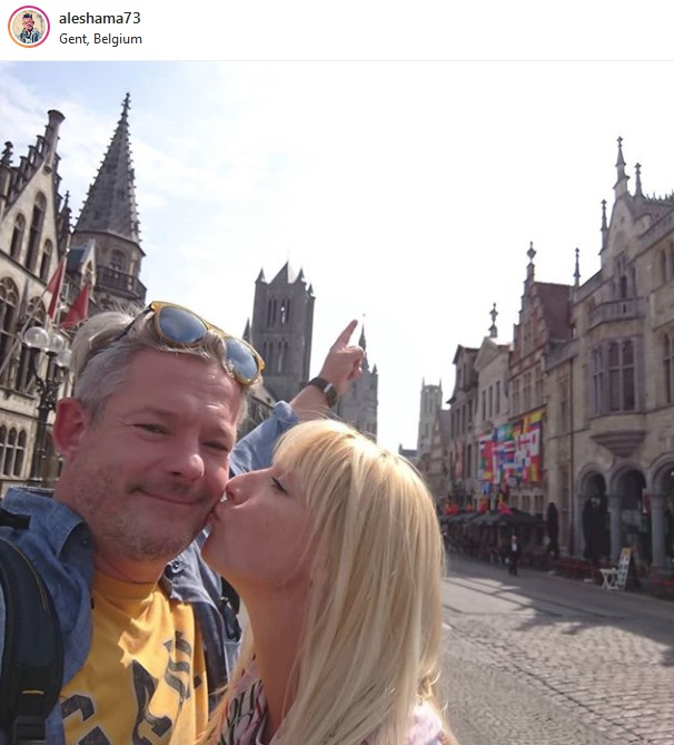Aleš Háma v Belgii.