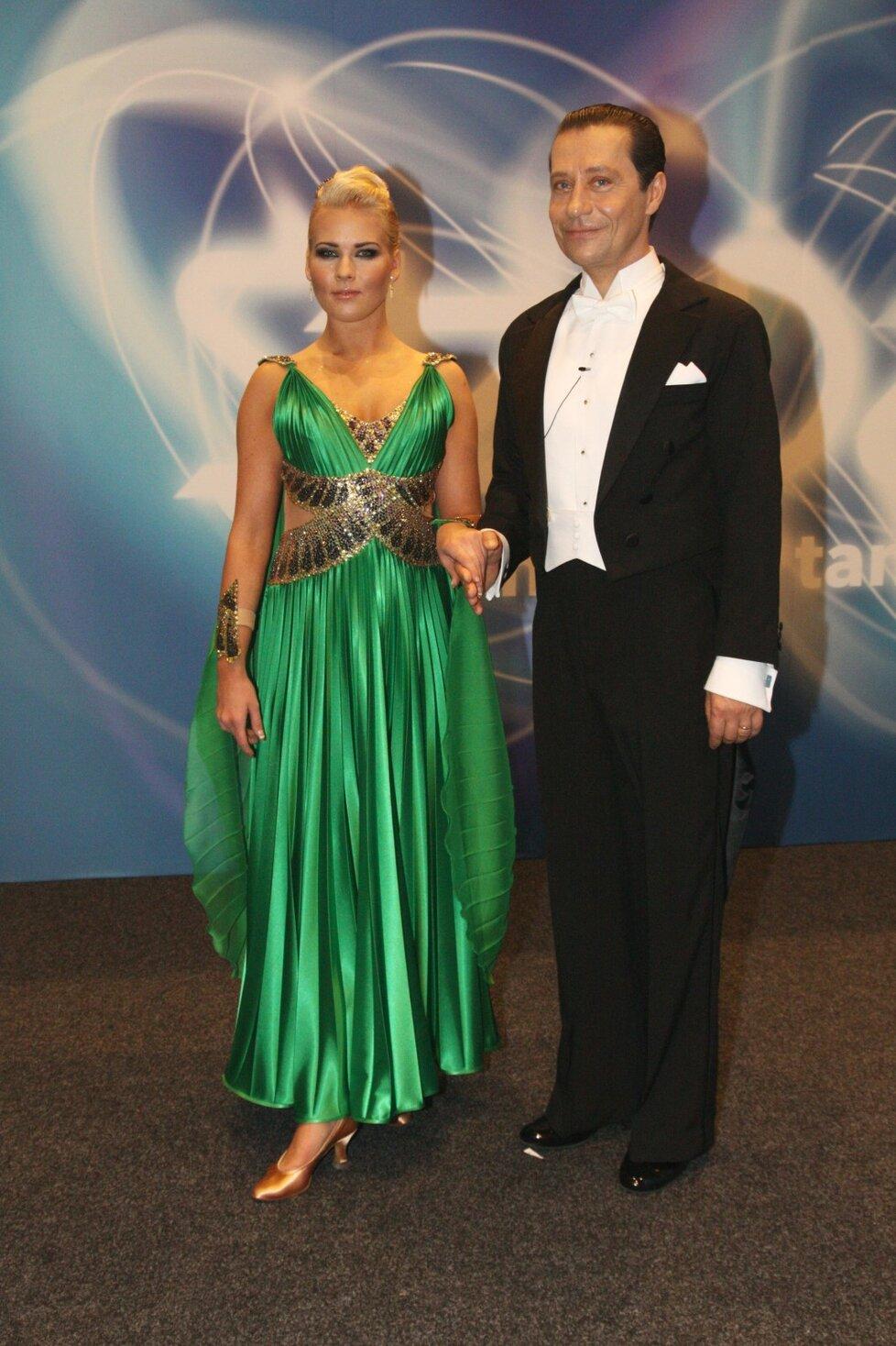 Pavel Kříž a Alice Stodůlková