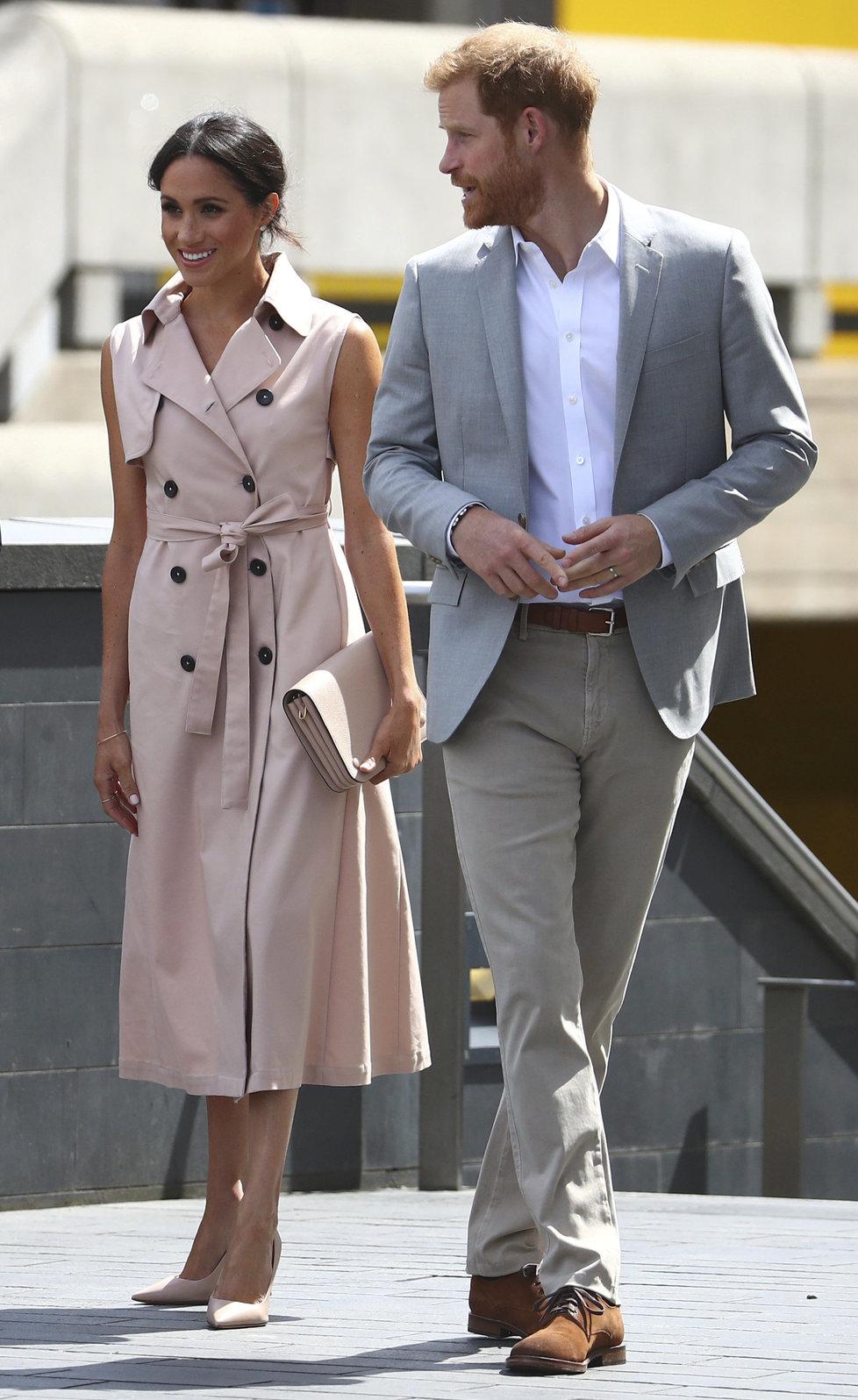 Princ Harry a vévodkyně Meghan zahajovali výstavu