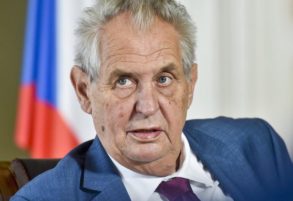 Prezident Miloš Zeman s rozhodnutím Nejvyššího soudu v kauze H-System nesouhlasí