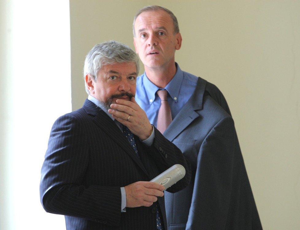 Konkurzní správce H-Systemu Josef Monsport zastupoval i někdejšího ředitele Novy Vladimíra Železného.