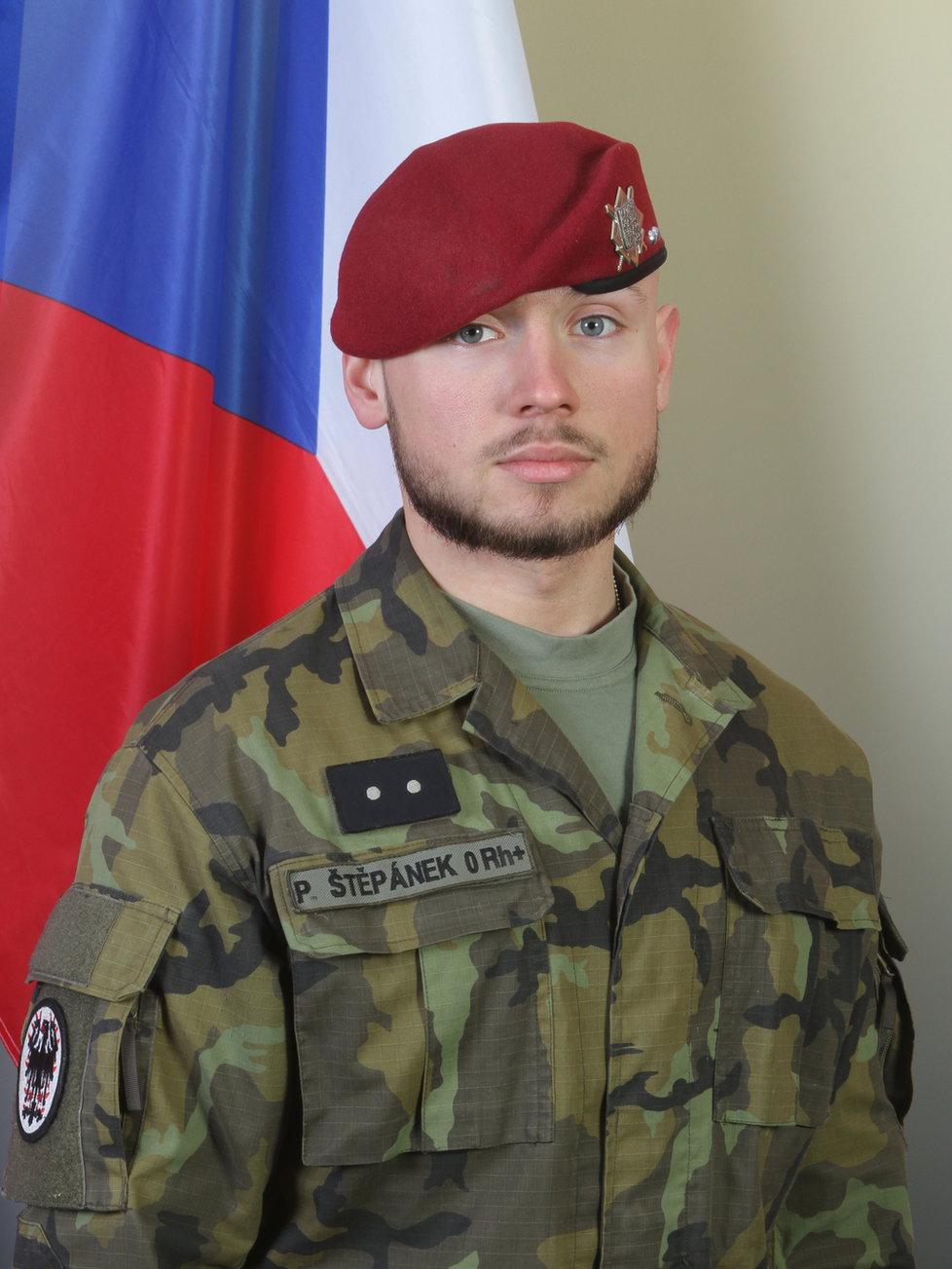 Desátník Patrik Štěpánek (†25)