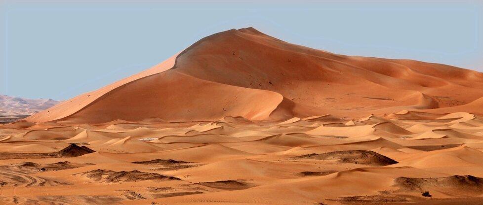 Písečná duna Rub Al Khali.