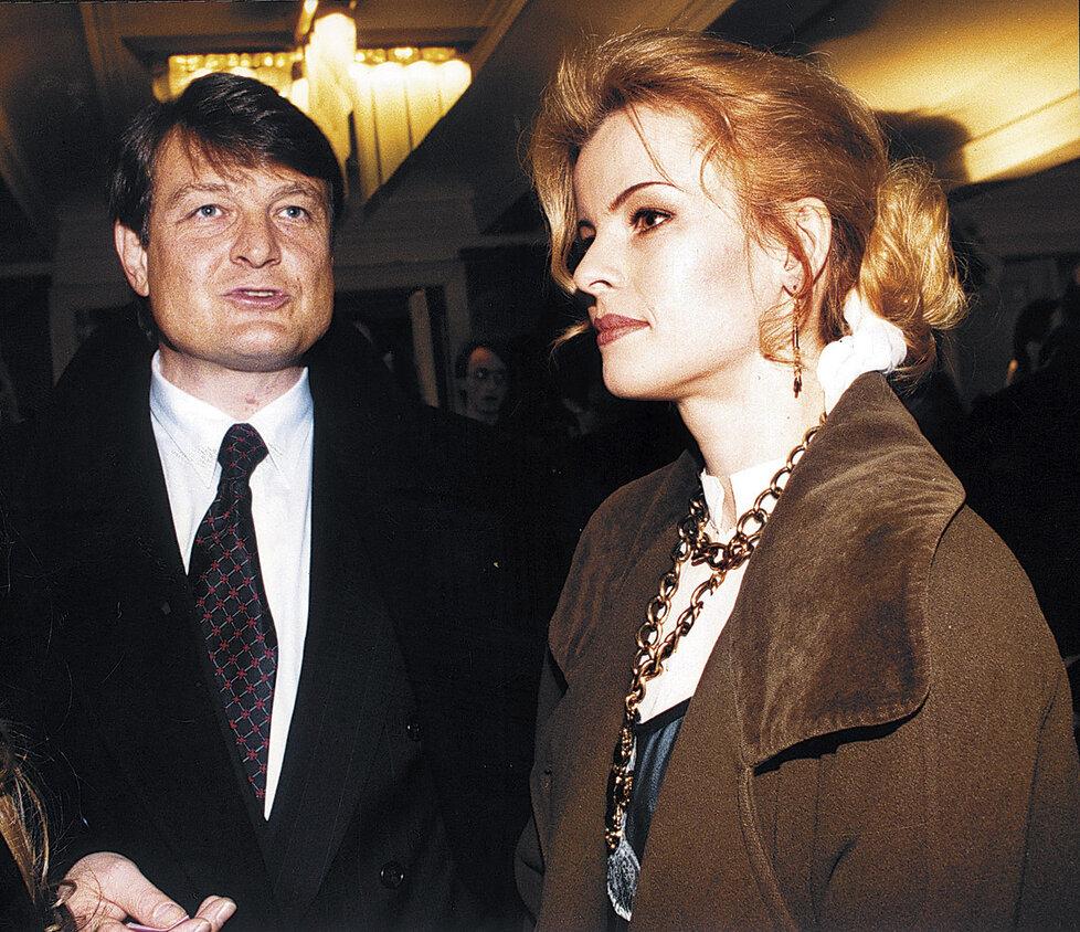 S Ivetou Bartošovou (†48) žil Láďa Štaidl (ne)šťastných třináct let.