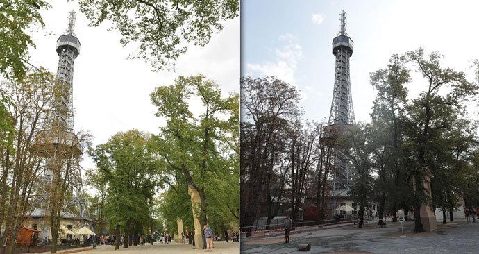 de91e7d5304 Všichni na Petřín!« Rekonstrukce okolí pražské Eiffelovky skončila ...