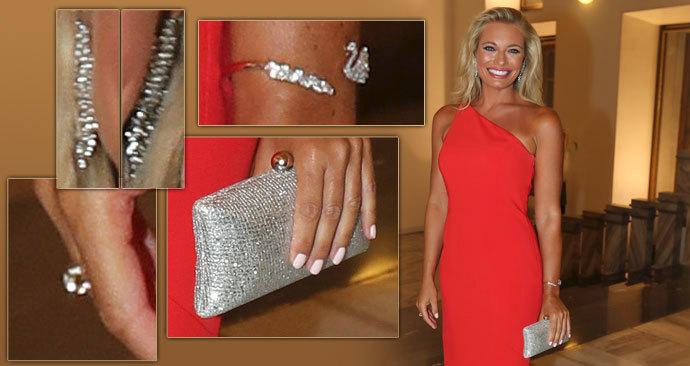 Lucie Borhyová přiznala, že vynesla šperky od bývalých partnerů.