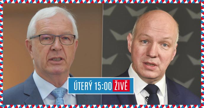 Senátní duel Blesku: Jiří Drahoš a Pavel Fischer