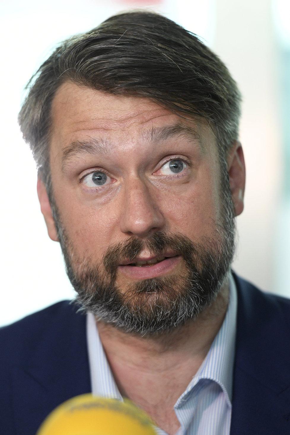 Lídr pražské ČSSD Jakub Landovský