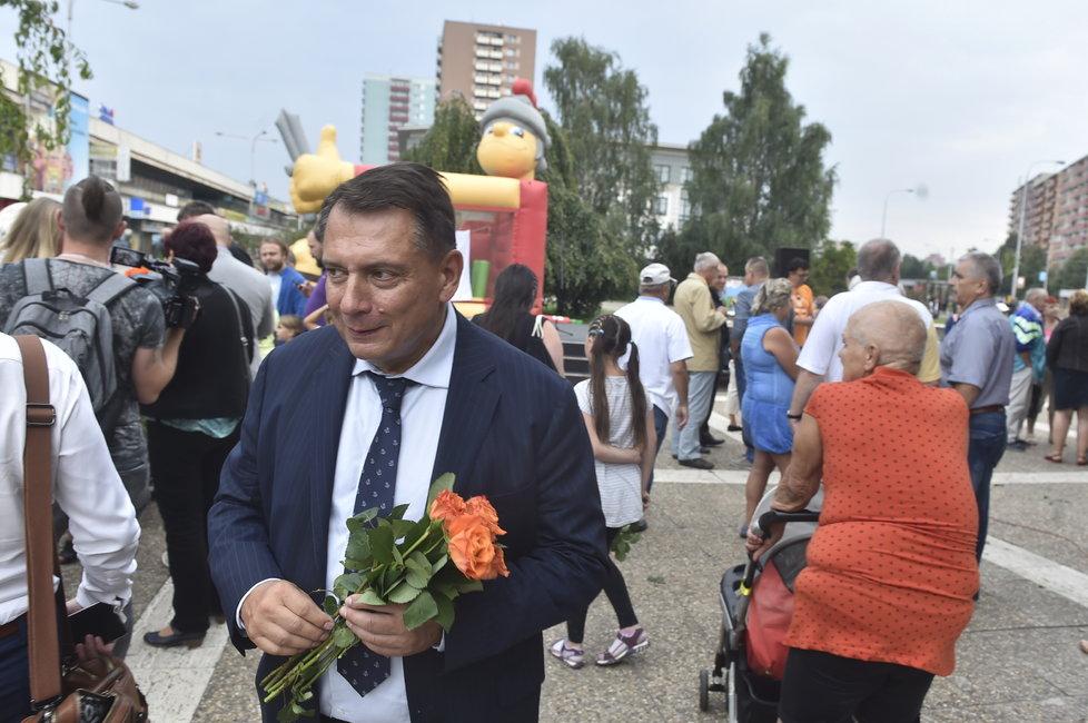Paroubek zahájil svou kampaň 4. září 2018 v Ostravě. Kandiduje jako nezávislý s podporou ostravské ČSSD