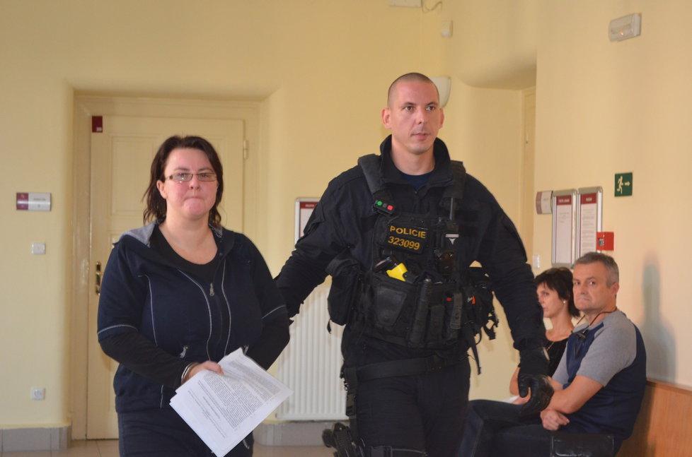 Renata Figurová, matka malého Tomáška, která je nyní v souvislosti s jeho zmizením ve vazbě