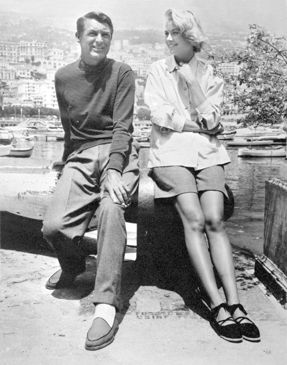 Gary Grant a Grace Kelly