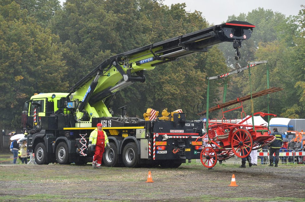 Záchranné složky se představily na Dni IZS na holešovickém Výstavišti v roce 2018.