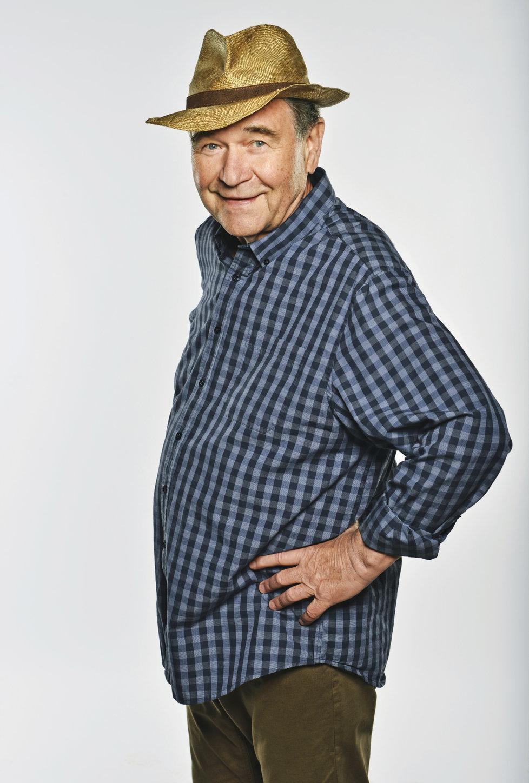 Václav Postránecký v seriálu Krejzovi