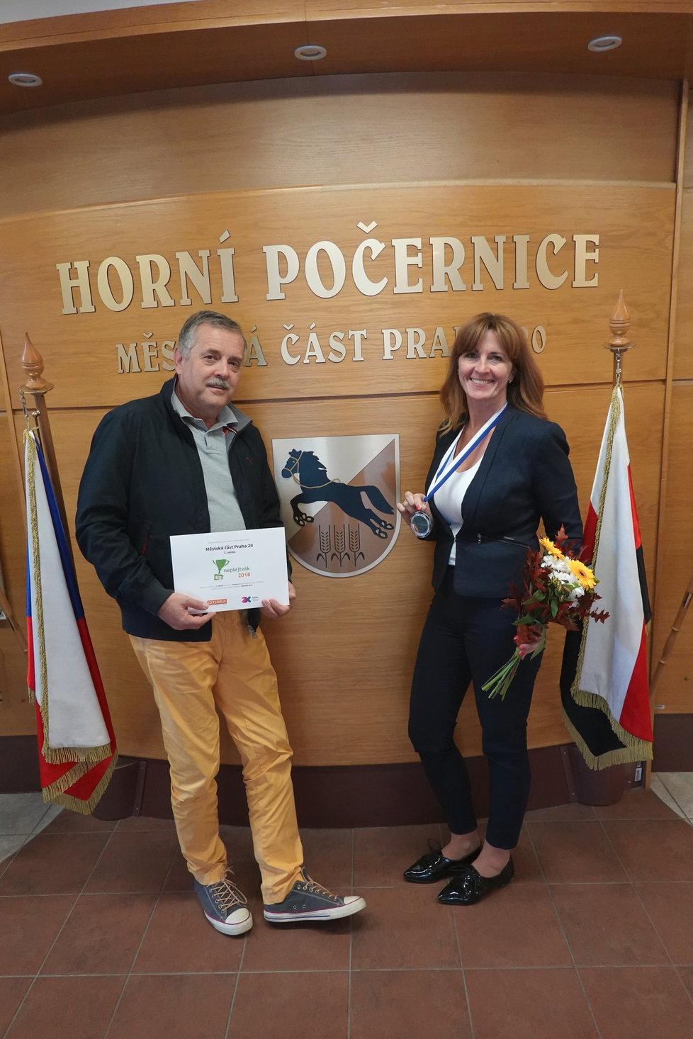 Radnice Horních Počernic bodovala v celostátním žebříčku transparentnosti. Ze všech republikovıch městskıch částí skončila druhá.