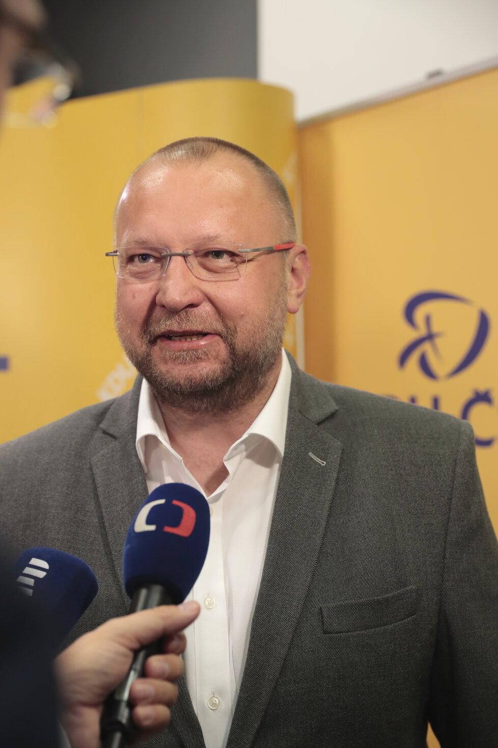 Volby 2018, KDU-ČSL: Místopředseda strany Jan Bartošek doufá ve vítězství