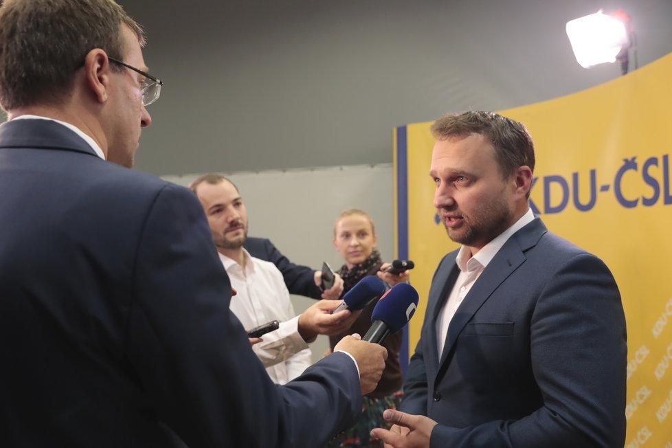 Volby 2018, KDU-ČSL: Exministr zemědělství Marian Jurečka v rozhovoru
