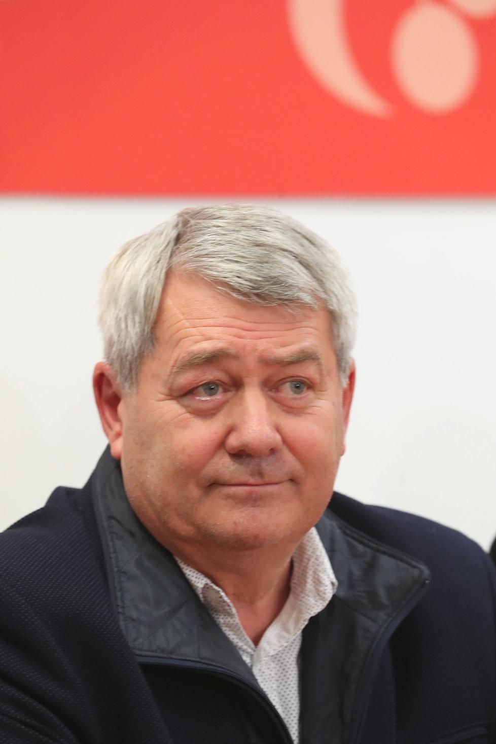 Komunální volby 2018: Předseda KSČM Vojtěch Filip oznámil, že nebude komentovat průběžné výsledky, (6.10.2018).