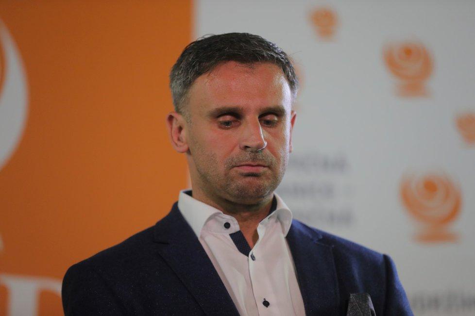Tisková konference ČSSD (6.10.2018)