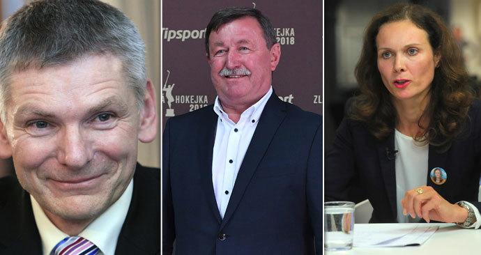 Jiří Hynek, Vladimír Martinec a Lucie Orgoníková. Všichni chtěli do Senátu na Chrudimsku. Hlasy voličů ale na to nestačily