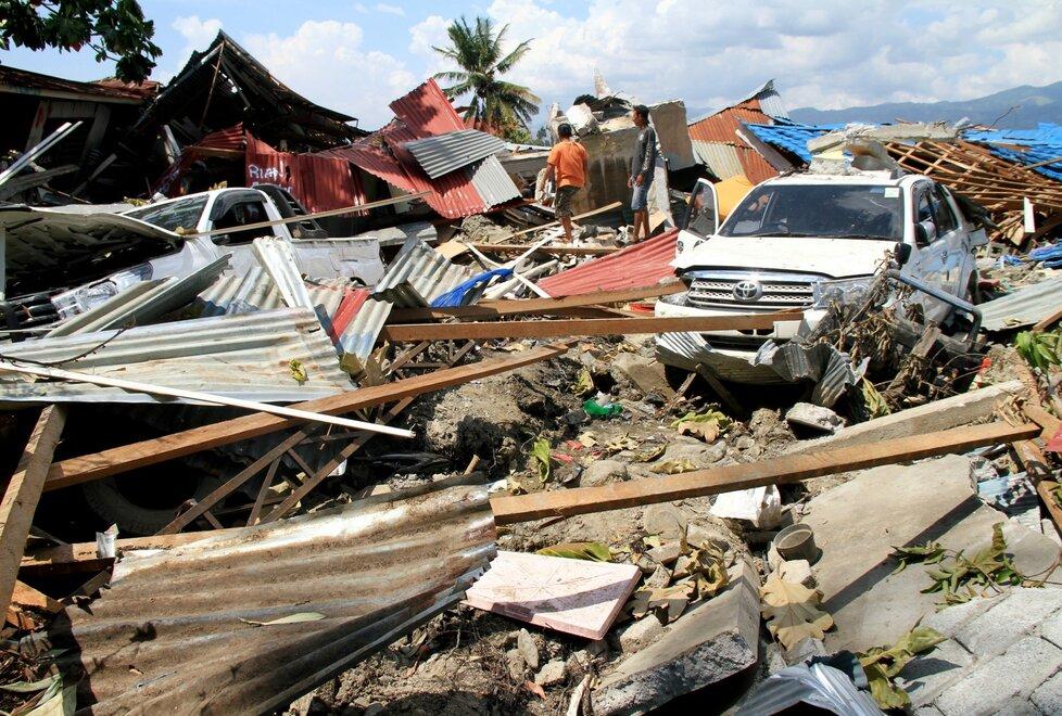 Zemětřesení na indonéské Jávě zv říjnu 2018