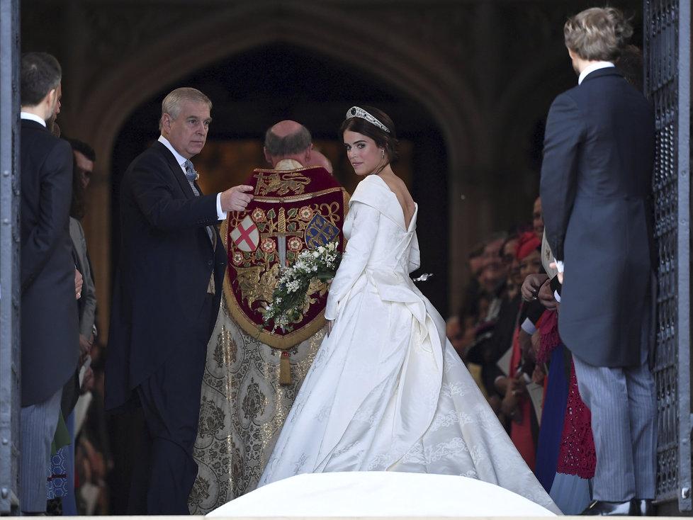 Cesta princezny Eugenie k oltáři