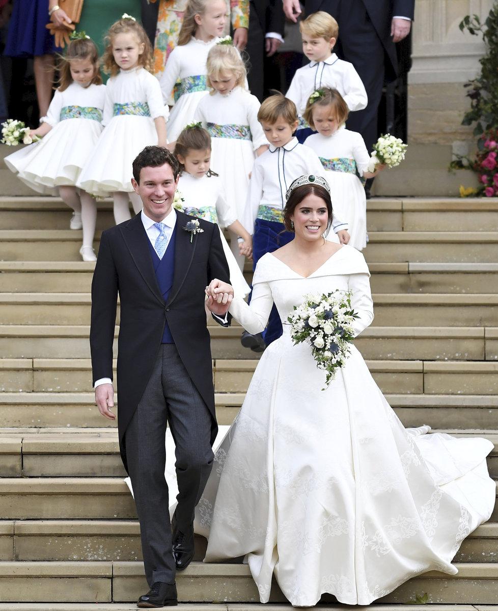 Svatba princezny Eugenie