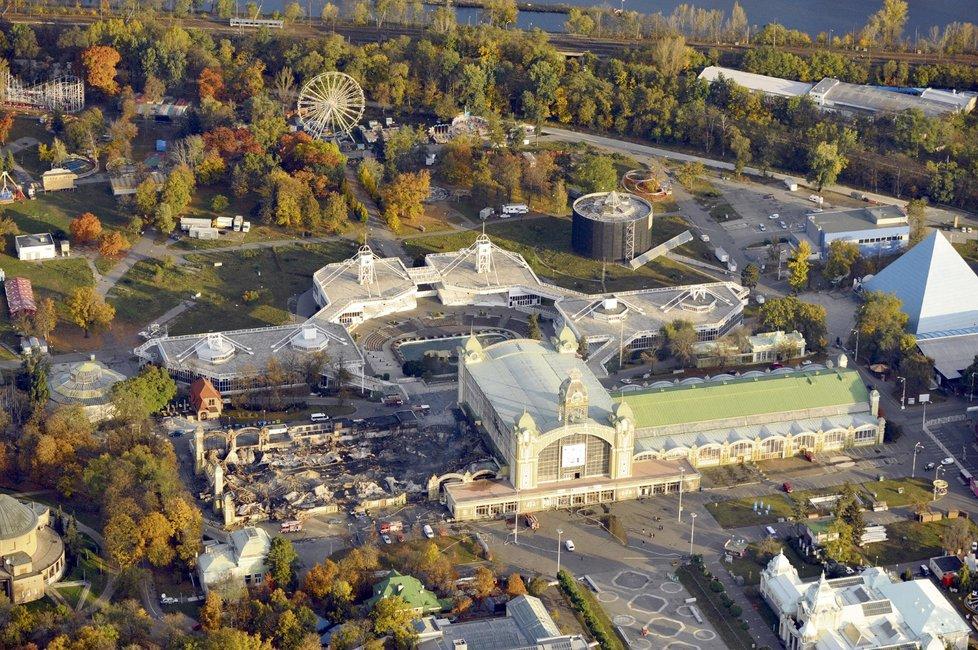 Průmyslový palác by měl dostat stavební povolení.