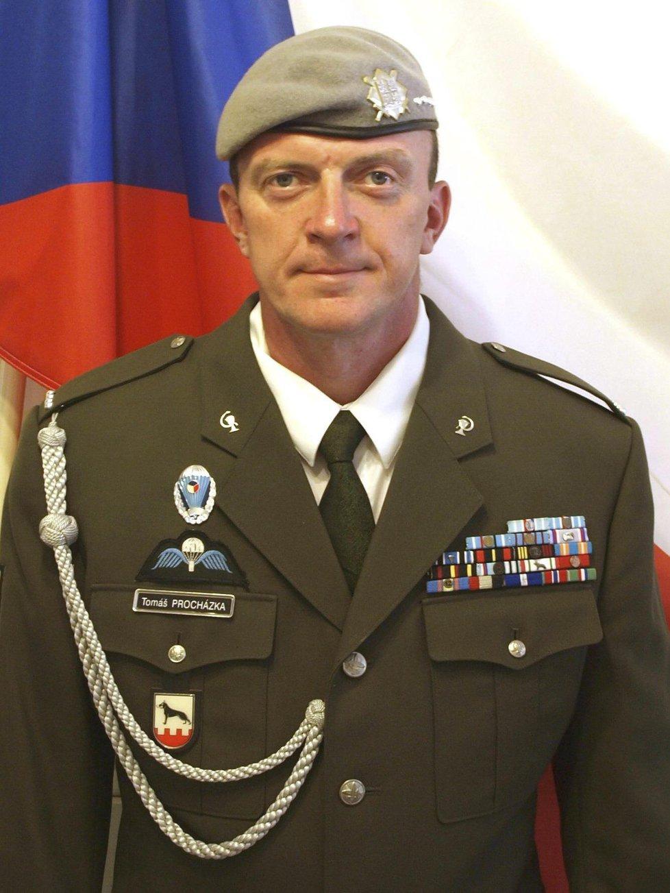 Tomáš Procházka - Medaile Za hrdinství