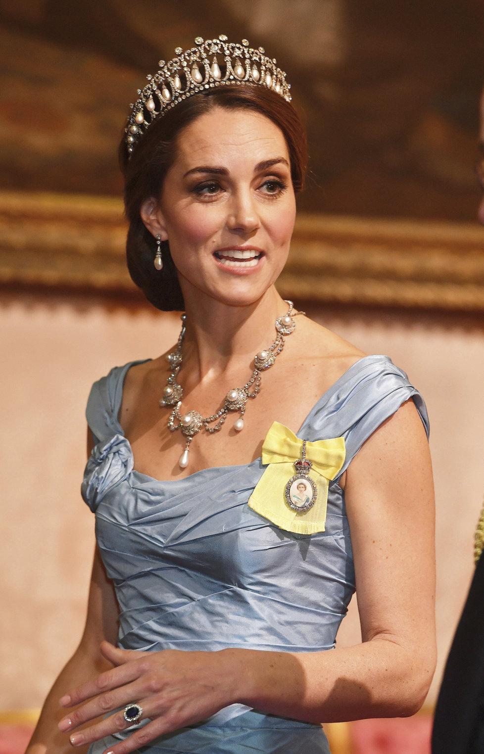 Britská vévodkyně Kate Middleton.