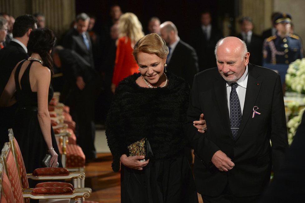 Dagmar Havlová s Pavlem Rychetským