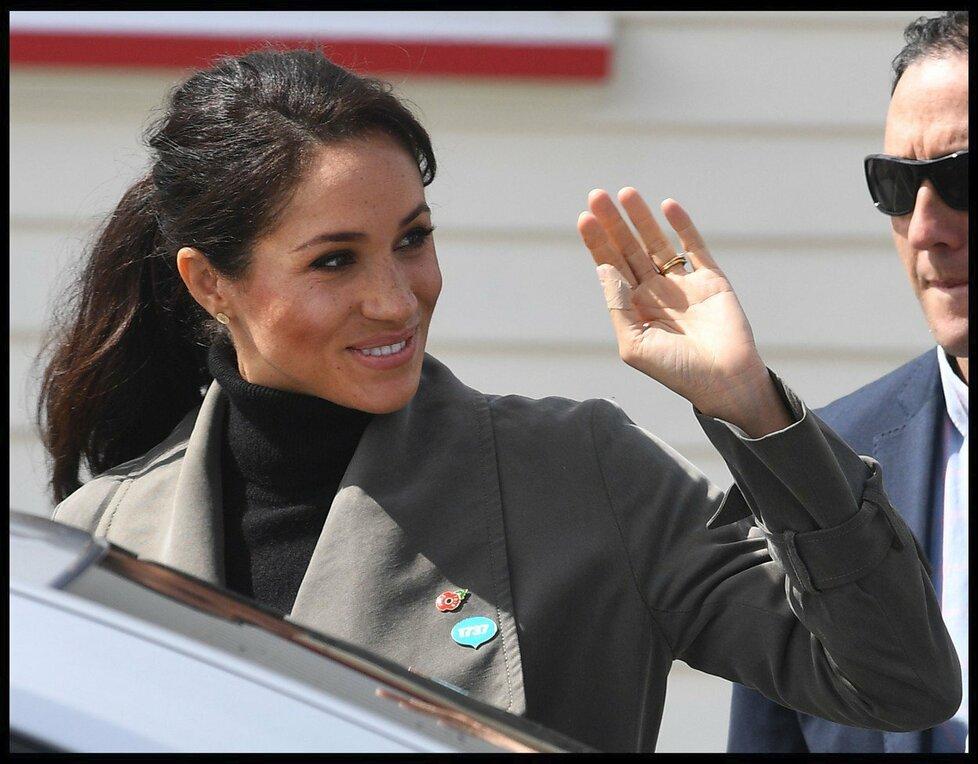 Vévodkyně Meghan na Novém Zélandu