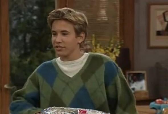 1994 - Jonathan Taylor Thomas okouzloval v roli Randyho v seriálu Kutil Tim.