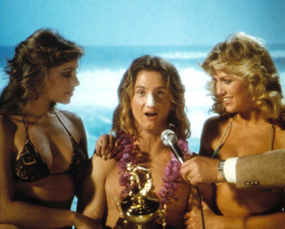 1982 – Sean Penn a jeho zlaté lokny ve filmu Zlaté časy na Ridgemont High.