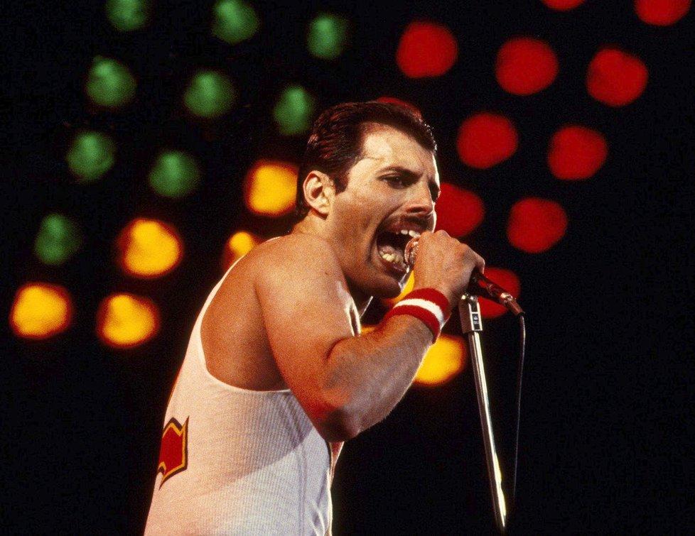 Freddie Mercury z The Queen