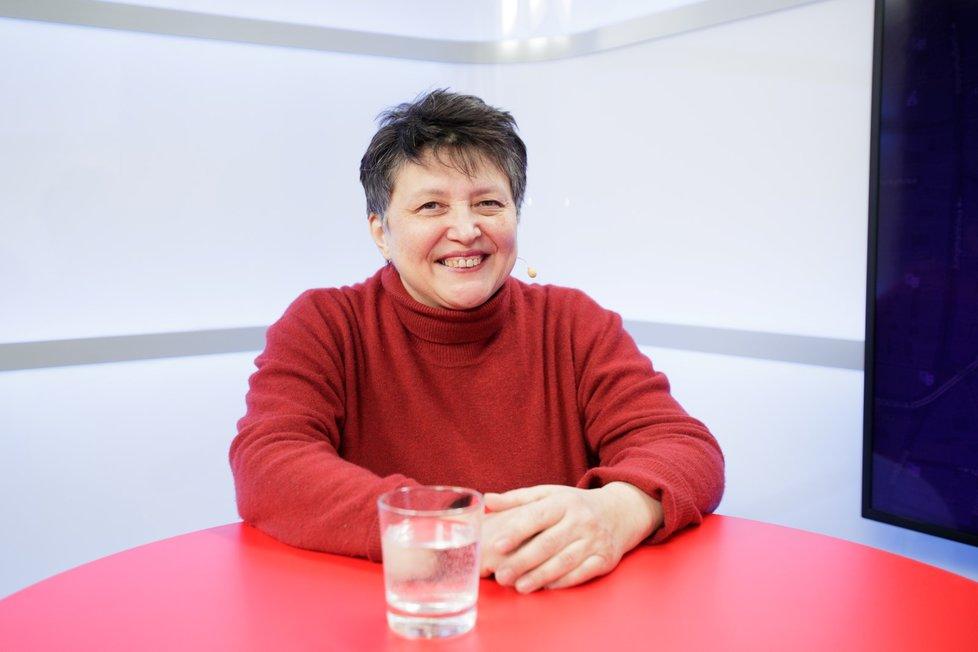 Džamila Stehlíková v Epicentru mluvila o schizofrenii