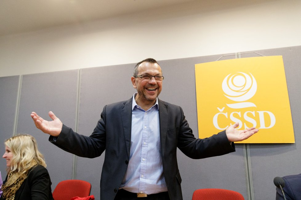 Předsednictvo ČSSD: Jaroslav Foldyna (21. 11. 2018)